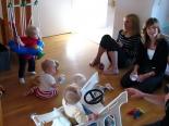 Bebisarna och Annika & Lisa på bild